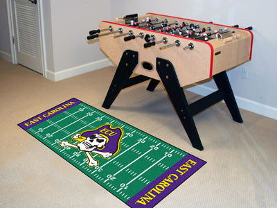 East Carolina University Runner Area Rug
