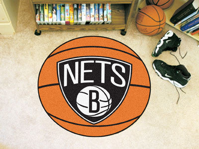 NBA - Brooklyn Nets Basketball Carpet