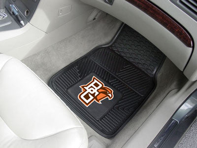 Bowling Green State University Heavy Duty 2-Piece Vinyl Car Mats