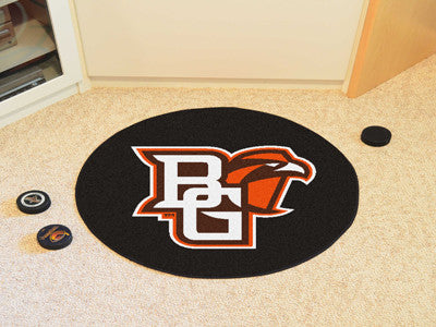 Bowling Green State University Hockey Puck Mat