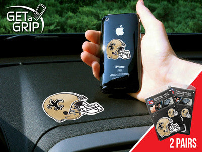 NFL - New Orleans Saints 2 PACK GET A GRIP Rug