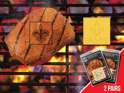 NFL - New Orleans Saints 2 PACK FAN BRAND Rug