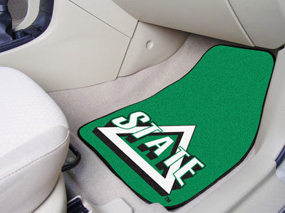 Delta State University Car Mats 2 Piece Front