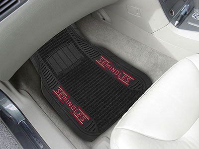 Florida State University FS Logo 2-Piece Deluxe Car Mats