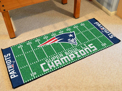New England Patriots 2016-17 Super Bowl LI Champions Runner Mat