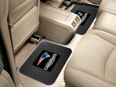 New England Patriots 2016-17 Super Bowl LI Champions 2 Pack Utility Car Mat