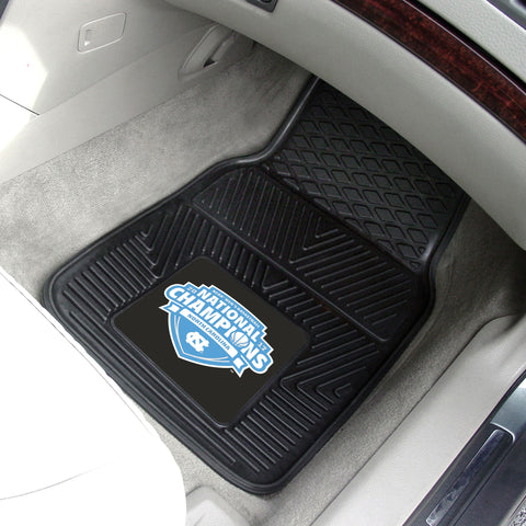 North Carolina 2017 NCAA Basketball Champions Heavy Duty 2-Piece Vinyl Car Mats