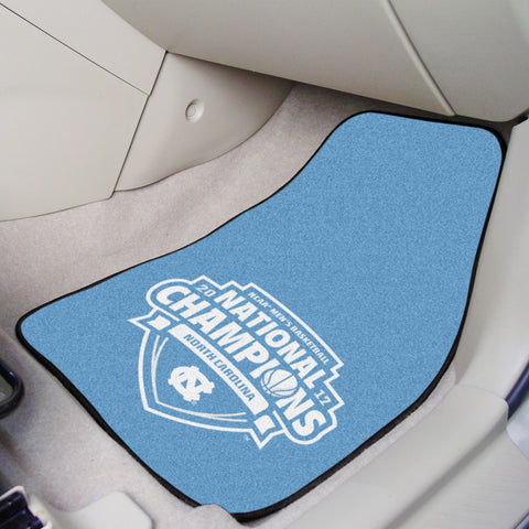 North Carolina 2017 NCAA Basketball Champions 2-Piece Car Mats