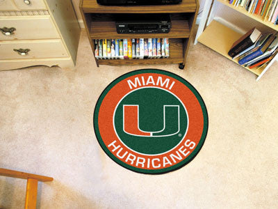 University of Miami Roundel Mat