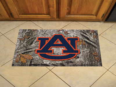Auburn University Doormat Logo Scraper Carpet