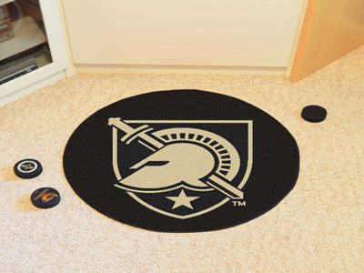 Army West Point Hockey Puck Mat