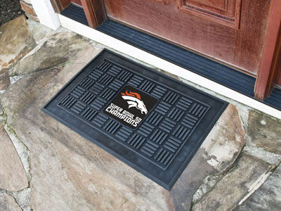 Broncos Super Bowl 50 Champions Door Mat