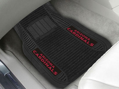 NFL - Arizona Cardinals 2-Piece Deluxe Car Mats