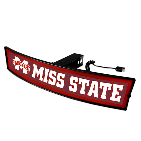 Mississippi State Officially Licensed NCAA Illuminated Trailer Hitch Cover