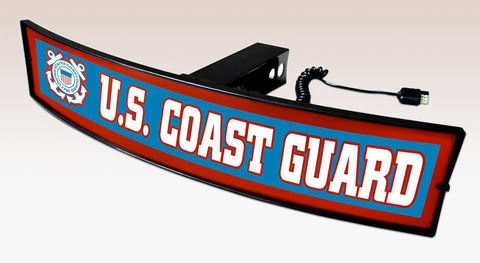 United States Coast Guard Trailer Hitch Cover