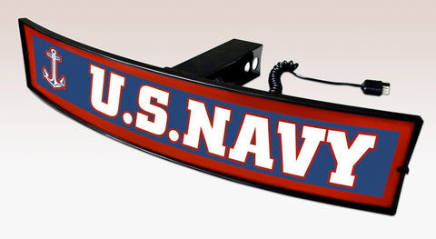 United States Navy Trailer Hitch Cover