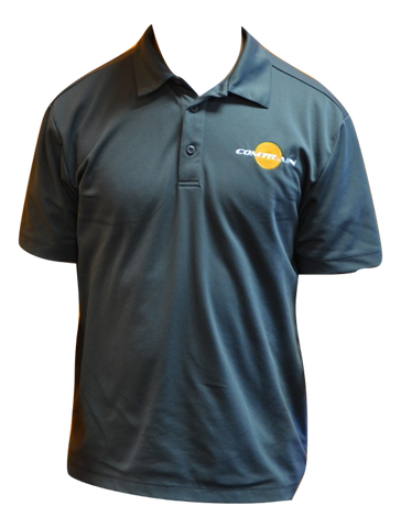 Performance Dry Fit Shirt w/Embroidered Comtrain logo - Grey