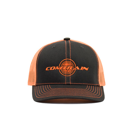 Neon Orange Comtrain Logo Cap