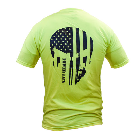 Tower Life™ Performance Dry-Fit Shirt - Safety Green