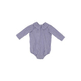 Peter Pan Shirt Nantucket Navy Gingham