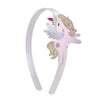 Unicorn Gold Glitter Wings Headband