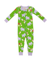 The Beaufort Bonnet Company Noelle's Night Night Footed Pajamas A Ton of Fun Lauderdale Lavender