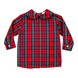 BAILEY BOYS DECEMBER PLAID BOYS PIPED SHIRT