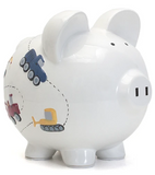 Construction Piggy Bank
