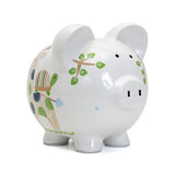 Blue Tropical Punch Piggy Bank