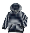 Stripe Hooded Top HB461B