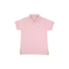 Prim and Proper Short Sleeve Polo Plantation Pink