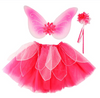 Fancy Flutter Skirt with Wings