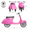 PRIMO PINK RIDE-ON TOY