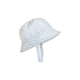 THE BEAUFORT BONNET COMPANY BROADCLOTH BONNET - BUCKHEAD BLUE GINGHAM
