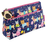 FLOSS AND ROCK PETS JUMBO PENCIL CASE