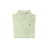 THE BEAUFORT BONNET COMPANY PRIM AND PROPER POLO MARIETTA MINT STRIPE