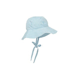 THE BEAUFORT BONNET COMPANY SAWYER SUNHAT BROOKLINE BLUE WINDOWPANE