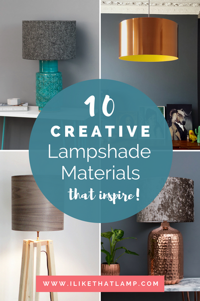 10 Creative Lampshade Materials to Inspire Your Next DIY Home Decor Project