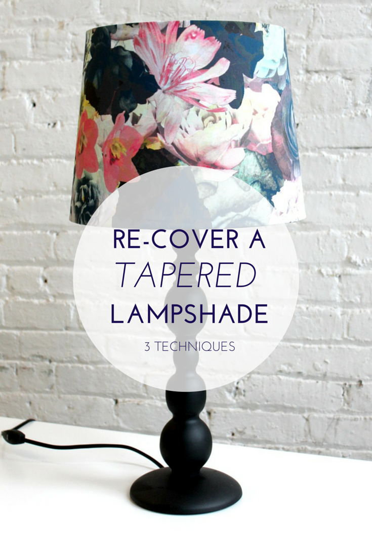 3 Ways To Make A Cone Shaped Lampshade Makely