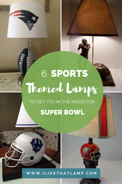 6 American Football Themed Lamps in Honor of Super Bowl