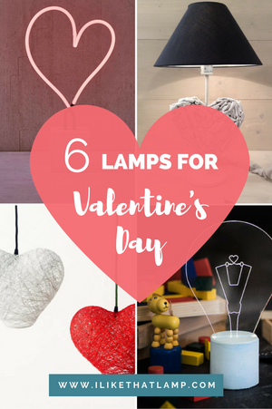 6 Romantic Lamps to Set the Mood for Valentine's Day