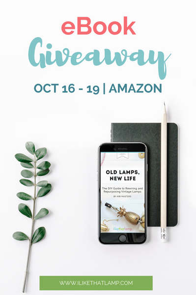 We're hosting our first Amazon Giveaway! Get our DIY eBook for free