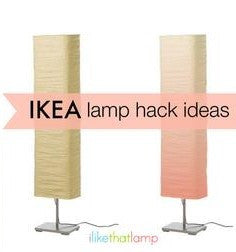 IKEA Lamps: Ideas for Refreshing & Refurbishing
