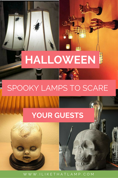 Scare Your Guests with These Spooky Halloween Lamps