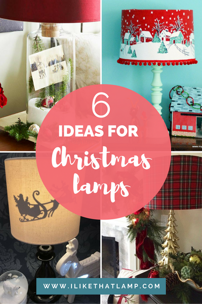6 Christmas Themed Lamps to Swoon Over