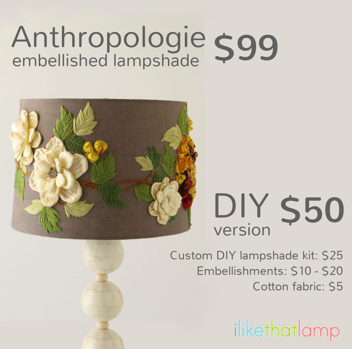 Get the look for less designer lampshades i like that lamp get the look for less designer lampshades aloadofball Gallery