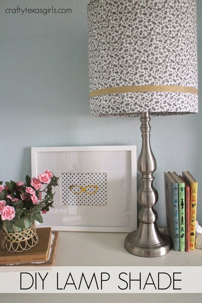 Samantha's Speckled Lampshade