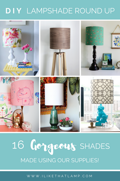 DIY Lampshade Round Up: 16 Gorgeous ILTL Shades