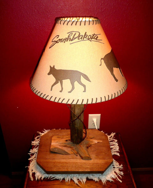 Austin's Rustic South Dakota Lampshade