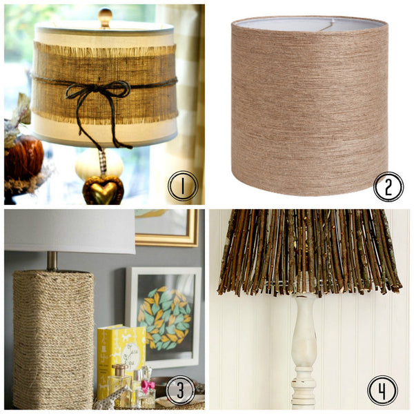 Diy Lampshade Inspiration Autumnal Lamps I Like That Lamp